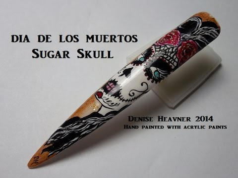 SUGAR SKULL---------Painted with acrylic paints
