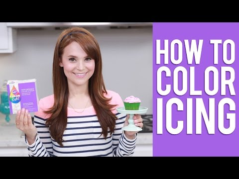 How to Color Icing | Rosanna Pansino Video Tutorial