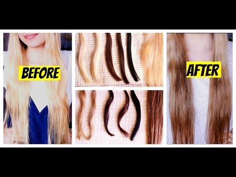 How To Naturally Darken Your Hair with COFFEE-Tried On Different Hair Colors- Beautyklove