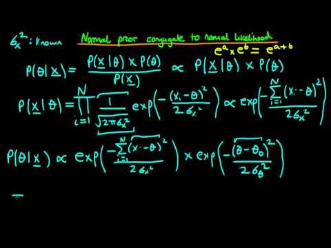 31 - Normal prior conjugate to normal likelihood - proof 1