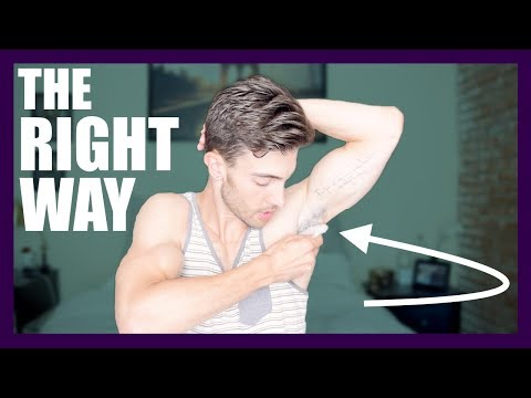 HOW TO REMOVE ARMPIT HAIR