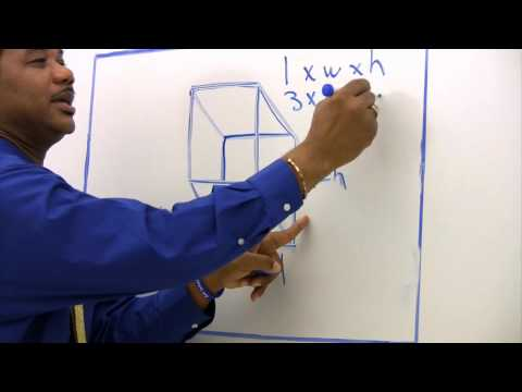 Math Tips - How To Find Cubic Foot