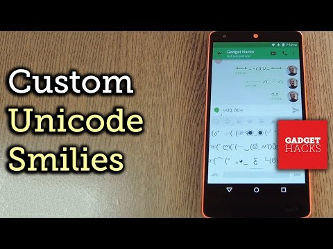 Get Custom Unicode Smilies for the Google Keyboard - Android [How-To]