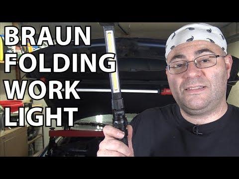 Tool Review: Braun 390 Lumen Folding LED Worklight
