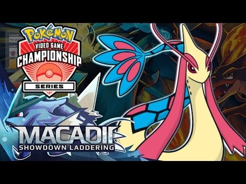 Adrenaline Orb Milotic! - Pokemon Showdown VGC 2017 Laddering w. macadii (Pokemon Sun and Moon)
