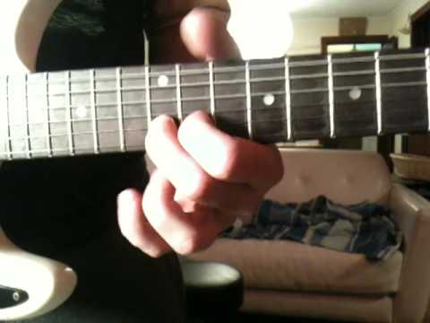 Home and Dry - guitar solo demo