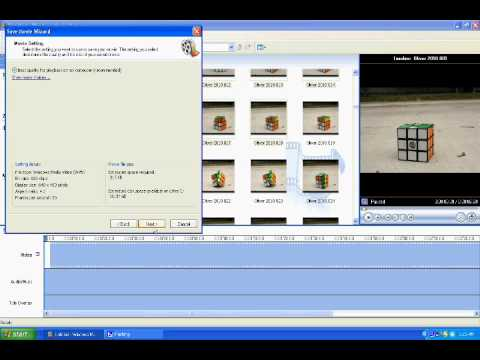 How to make a Stop Motion on Windows Movie Maker
