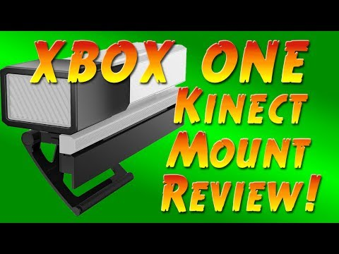 PDP Kinect TV Mount Review - XBOX ONE - Easy Way to Mount Kinnect OR ANY Camera to TV or Monitior