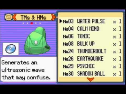 Pokemon Emerald Cloning Masterball and Pokemon