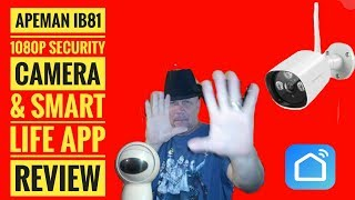 Outdoor WiFi Security Camera 1080p by Apeman [Hands on