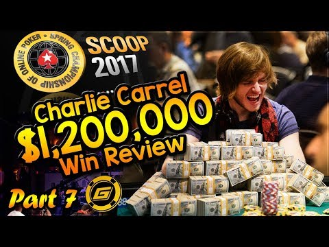 CHARLIE CARREL Reviews $1.2 MILLION WIN in SCOOP Main Event - All Hole Cards Exposed [Part 7]