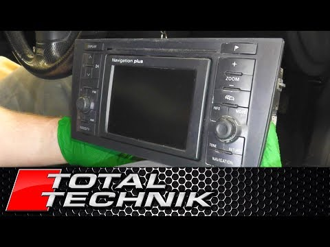 How to Recover Sat Nav Security Code RNS-D - ALL Audi Models - A2 A3 A4 A6 - TOTAL TECHNIK