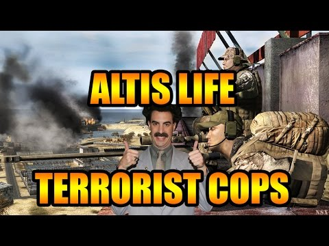 ARMA 3 Altis Life - Terrorist Cops! ( ARMA 3 Gameplay / Funny Moments )