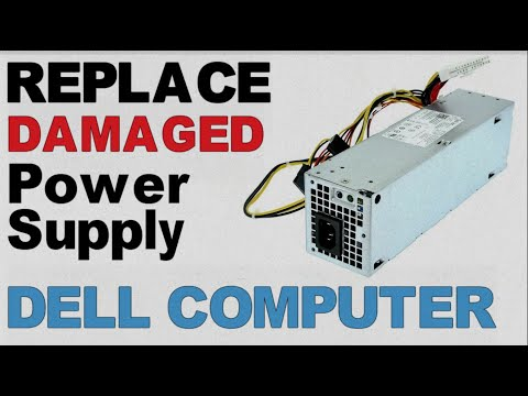 How To Detect and  Replace a Faulty Power Supply || Dell Optiplex 3010