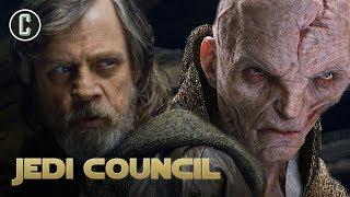 Will Luke Fight Snoke in The Last Jedi? - Jedi Council