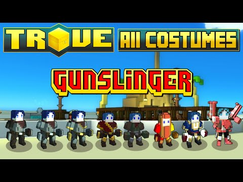 Trove - All Gunslinger Costumes (July 2015)!