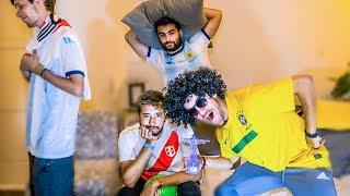 Reacciones de Amigos   PERU vs BRASIL   FINAL Copa America 2019