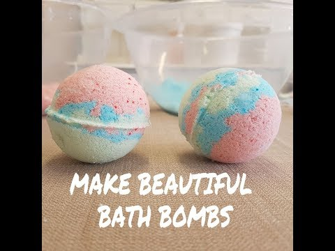 Make beautiful Bath Bombs