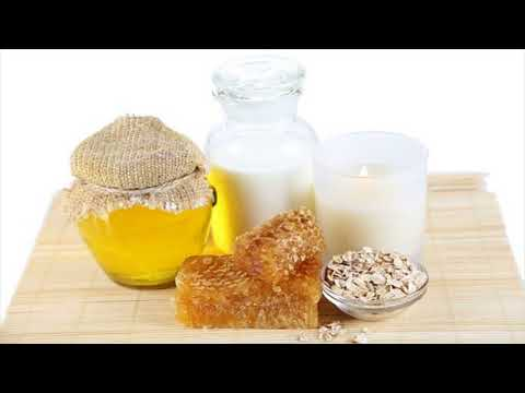 Milk And Honey For Red Eyes- Home Remedy For Red Eyes- How To Use
