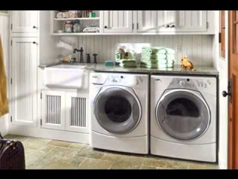 Easy Garage laundry room decorating ideas