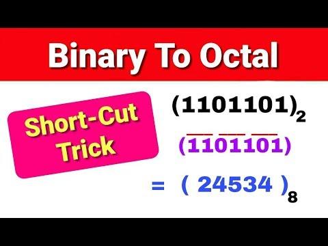 Binary To Octal ShortCut Trick In Hindi By Nirbhay Kaushik