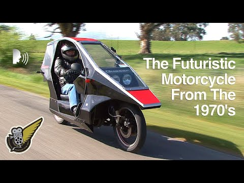 Lochead Quasar Covered Motorcycle