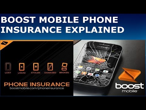 Boost Mobile Phone Insurance Explained (HD)