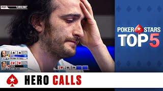 Top 5 Hero Calls   PokerStars