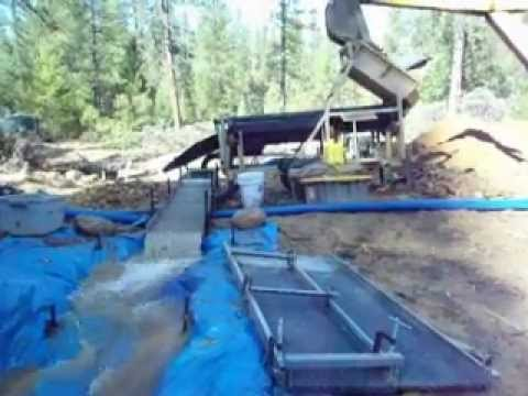 Portable Gold Trommel Wash Plant by Heckler Fabrication