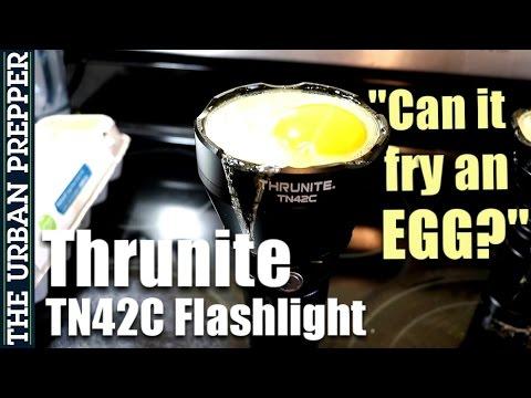 Thrunite TN42C: Can it fry an egg??