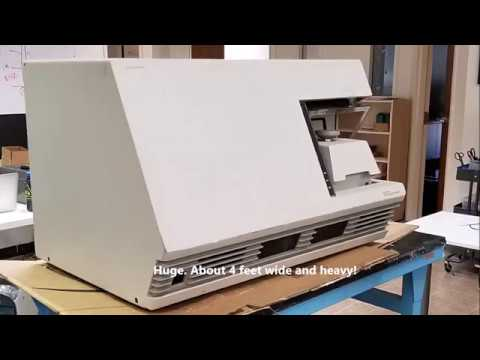 ABI 7700 real-time PCR system tear-down