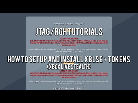 JTAG/RGH Tutorials - How to Setup and Install Xbox Live Stealth + Token System (XBLSE)