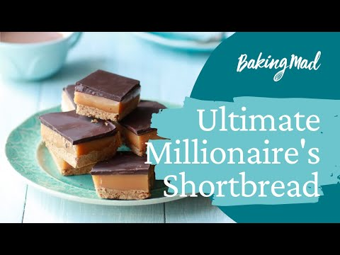 How to Make the Ultimate Millionaire's Shortbread | Baking Mad