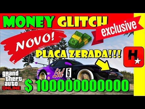 GTA 5 MONEY GLITCH DUPLICAR➕CRIAR PLACA LISA➕BUG do Dinheiro Infinito - GTA V Online