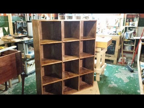 Build A Bookshelf Cubby --  Brian's Workshop