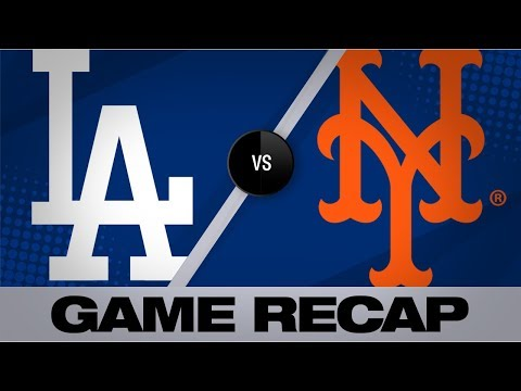 Lux, Rios lead Dodgers past the Mets   Dodgers-Mets Game Highlights 9/13/19