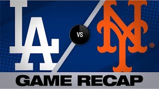 Lux, Rios lead Dodgers past the Mets | Dodgers-Mets Game Highlights 9/13/19