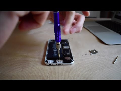 How to REALLY clean the iPhone 6/6s speakers and earpiece!