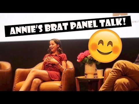 Annie's Brat Panel Talk 😊 (WK 385.2)   Bratayley