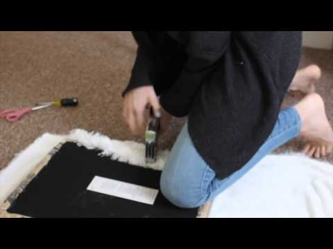 DIY: Make Your Own Fur Chair!