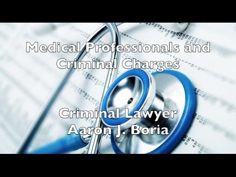 Health Care Professionals Criminal Defense