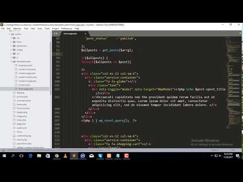 How to convert custom html template to wordpress (part-7)