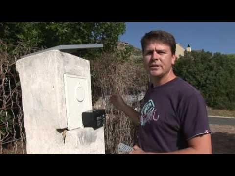 DIY Solar Power Automatic Gate