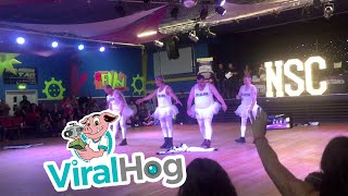 Dad's Street Dance Crew || ViralHog