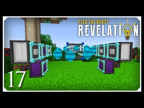 How To Play FTB Revelation | Wireless Crafting & Dislocator! | E17 Modded Minecraft For Beginners
