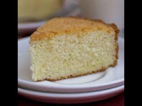 एग्ग्लेस वैनिला केक माइक्रोवेव में तैयार 6 मिनट में | Eggless Vanilla Cake In Microwave