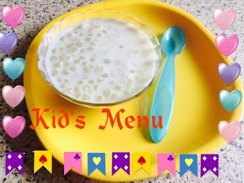 Baby Food Recipe: Sabutdana Kheer | For Babies 6 Months + | Sago Pudding | Sabakki Paysa | FoodyMomm