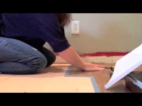 Installing Allure Flooring - Easiest DIY Flooring EVER