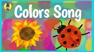 Colors Song for Kids | Primary Colors for Children | The Singing Walrus