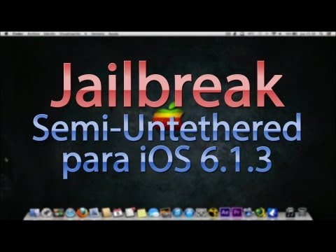 Jailbreak Semi-Untethered iOS 6.1.3 (Win/Mac)